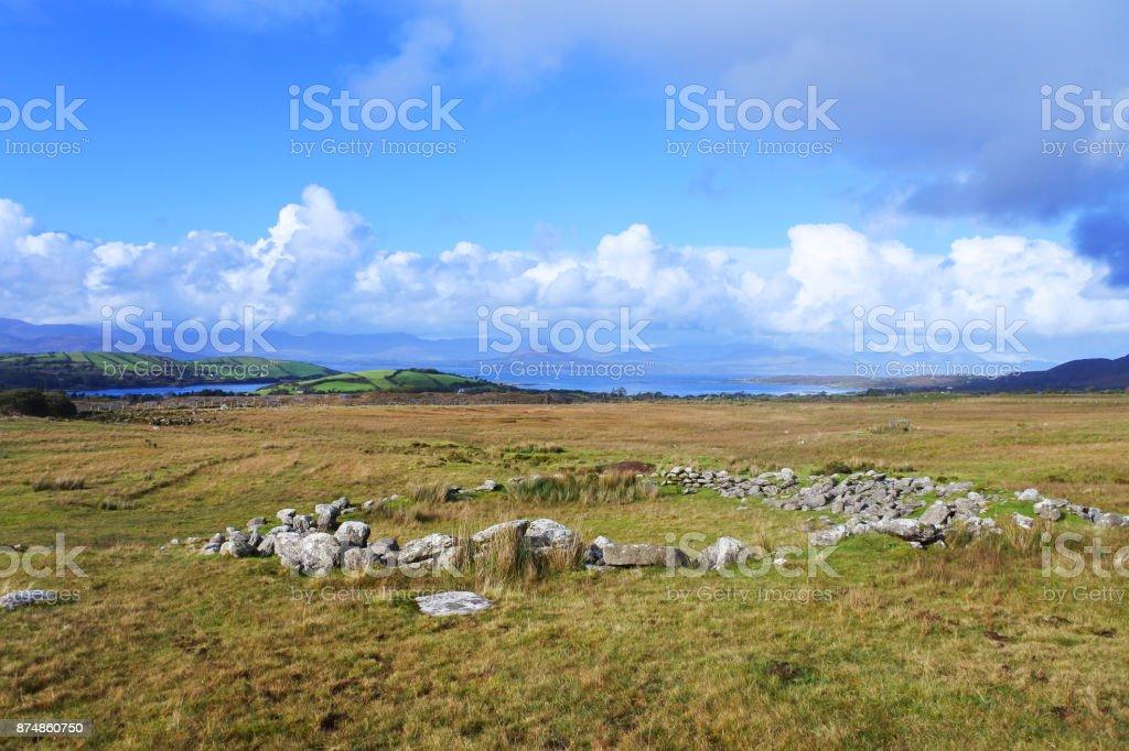 Ring Fort, County Cork, Ireland stock photo
