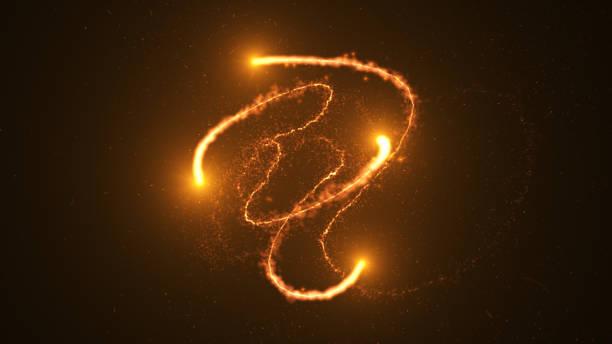 ateş çemberi, karanlık bir arka plan üzerinde plazma halka. - peri hayali karakter stok fotoğraflar ve resimler