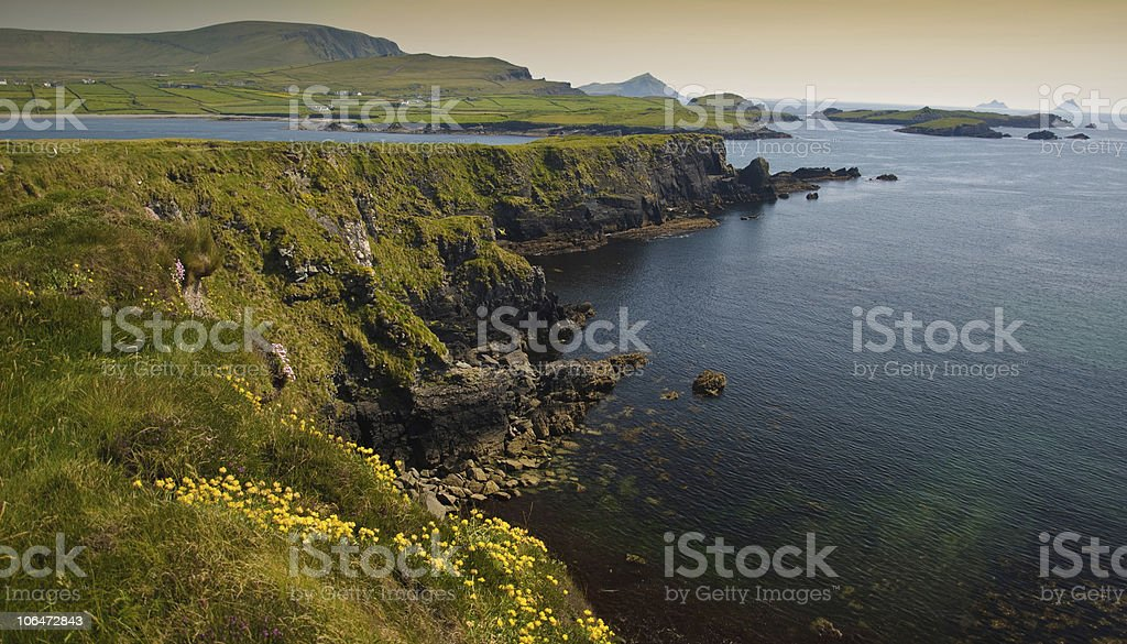 ring of kerry, ireland stock photo