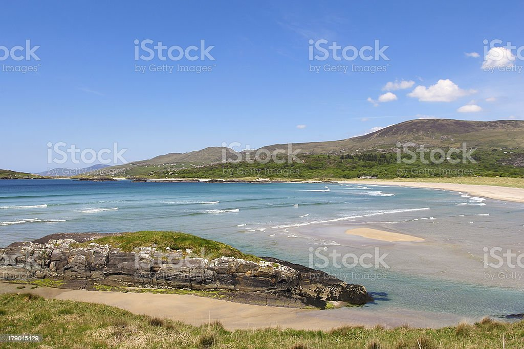 Ring of Kerry seascape stock photo