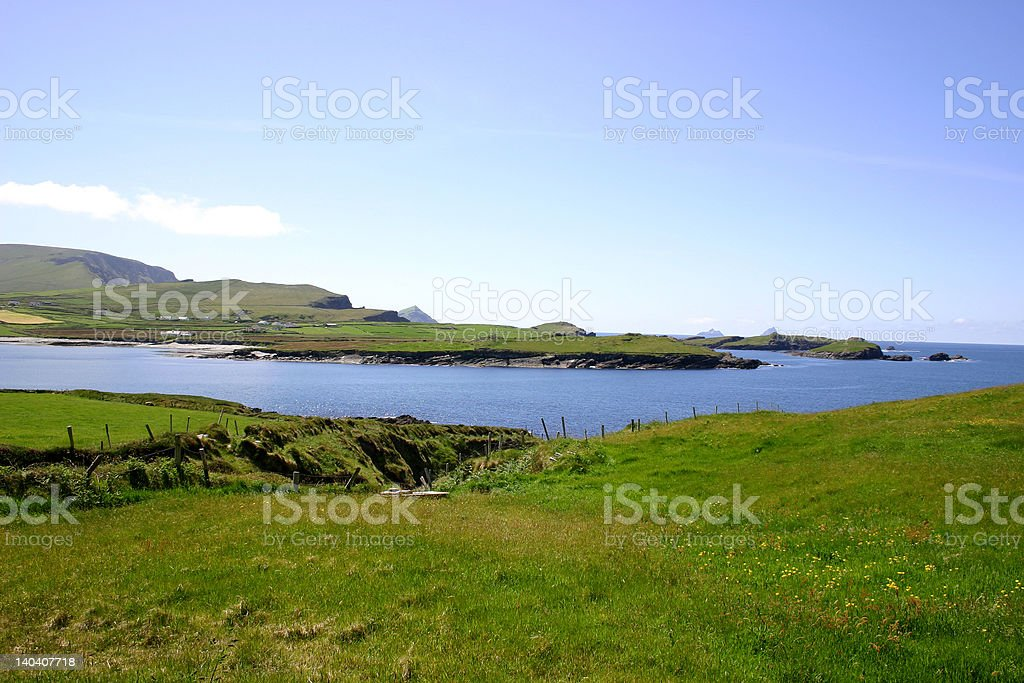 Ring of Kerry - Valentia Island royalty-free stock photo