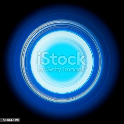 844330076istockphoto ring of light. rotation and circulation. colorful abstract background. 844330056
