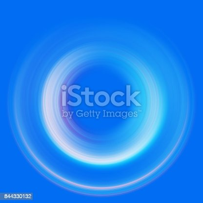 844330076istockphoto ring of light. rotation and circulation. colorful abstract background. 844330132