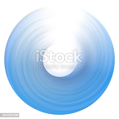 844330076istockphoto ring of light. rotation and circulation. colorful abstract background. 844330498