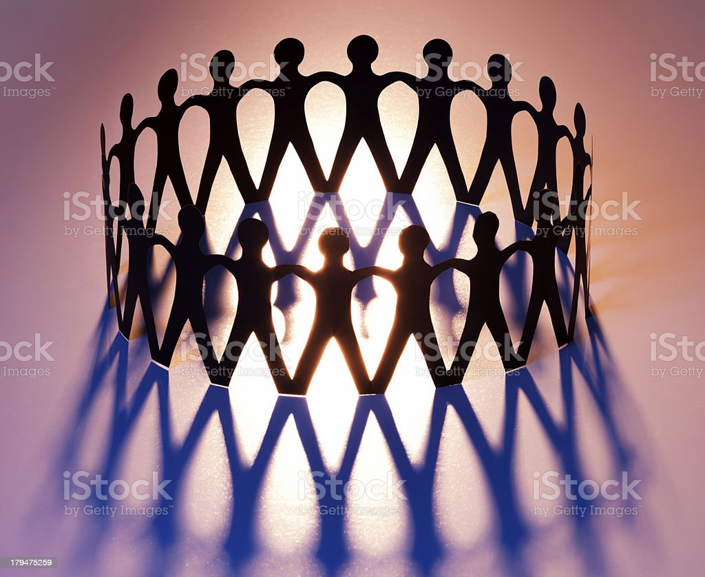 Ring of Unity royalty-free stock photo