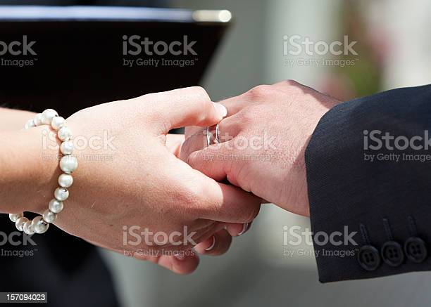 Ring On His Finger Stock Photo - Download Image Now