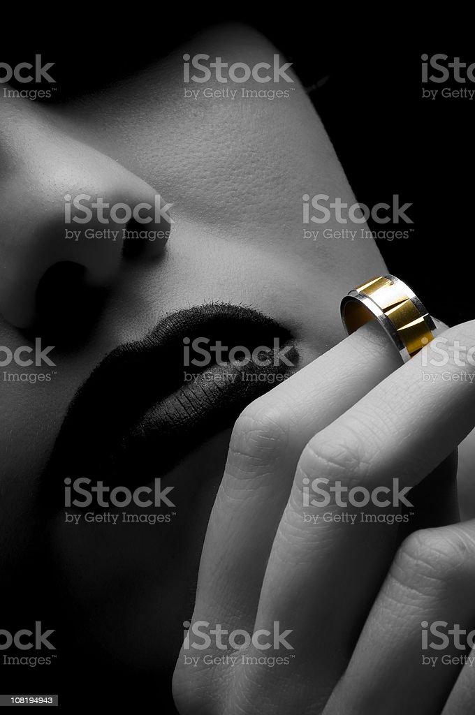 Ring royalty-free stock photo
