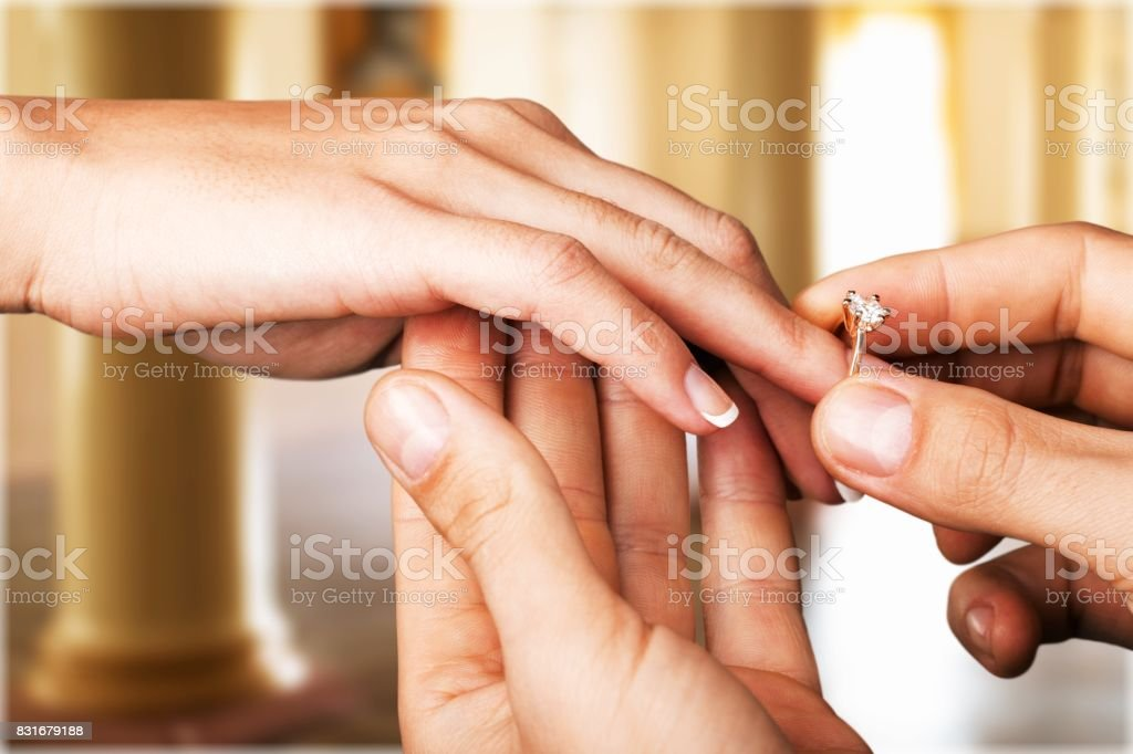 Ring. stock photo