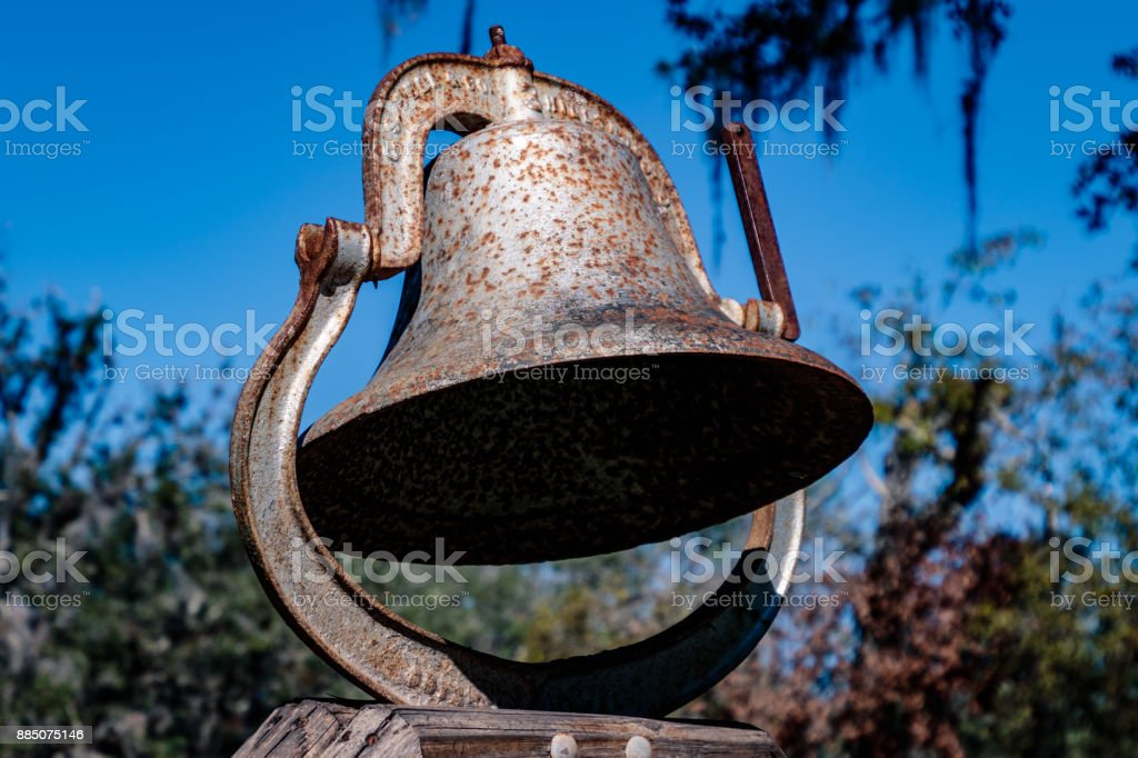 Ring the bell stock photo