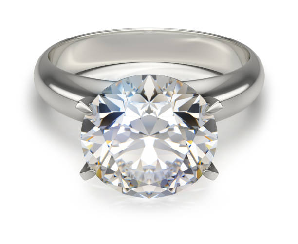 Cтоковое фото ring with a diamond