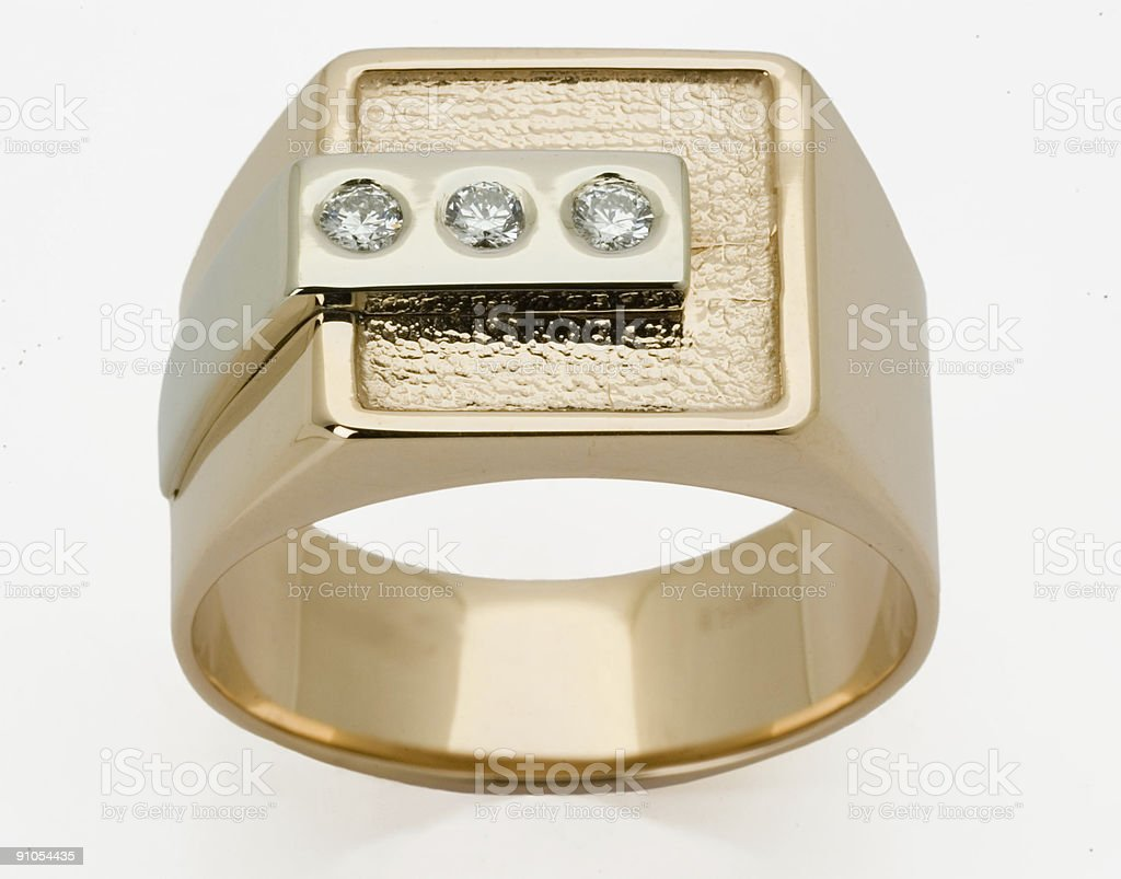 ring with the diamond royalty-free stock photo