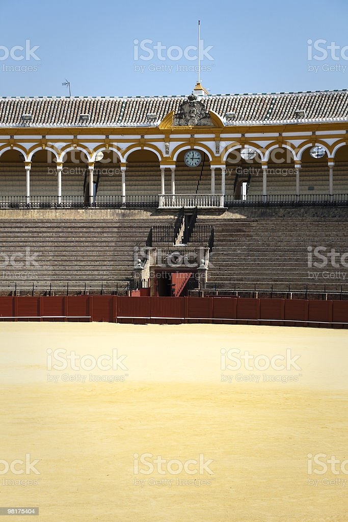 ringbull of Sevilla (spain) royalty-free stock photo