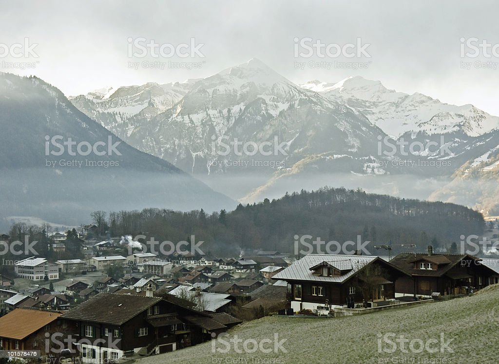 Ringgenberg, Switzerland stock photo