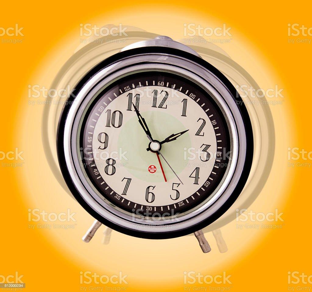 Ringing Alarm Clock stock photo