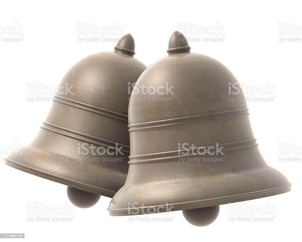 Ringing Bells royalty-free stock photo