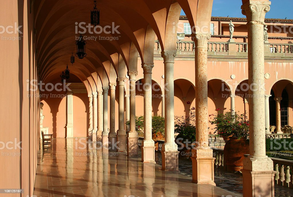 Ringling Museum of Art stock photo