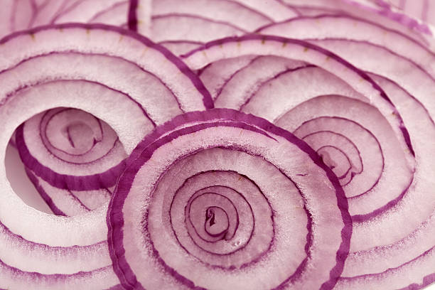 rings of red onion  red onions stock pictures, royalty-free photos & images