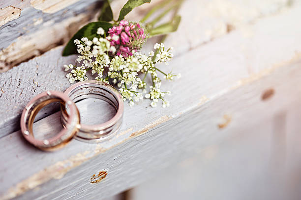 rings - wedding stock photos and pictures