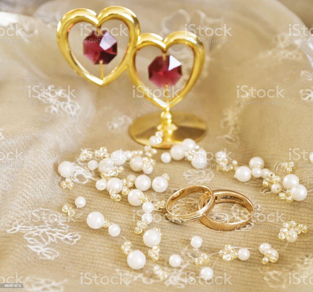 2 rings royalty-free stock photo