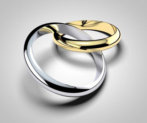 Rings, wedding rings, marriage, family, love stock photo