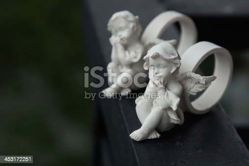 istock Rings with little angels 453172251