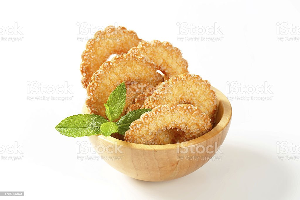 ring-shaped biscuits royalty-free stock photo
