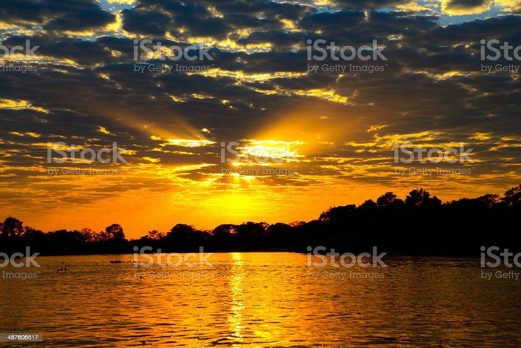 Rio Amarelo - foto de acervo