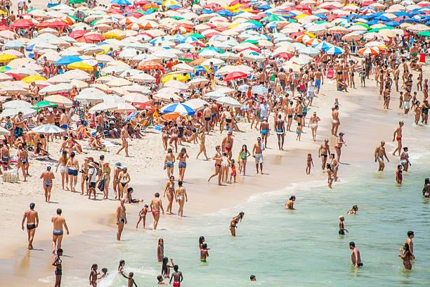 Rio beach. stock photo
