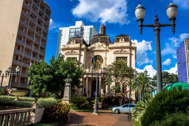 Rio Branco Palace in Brazil stock photo