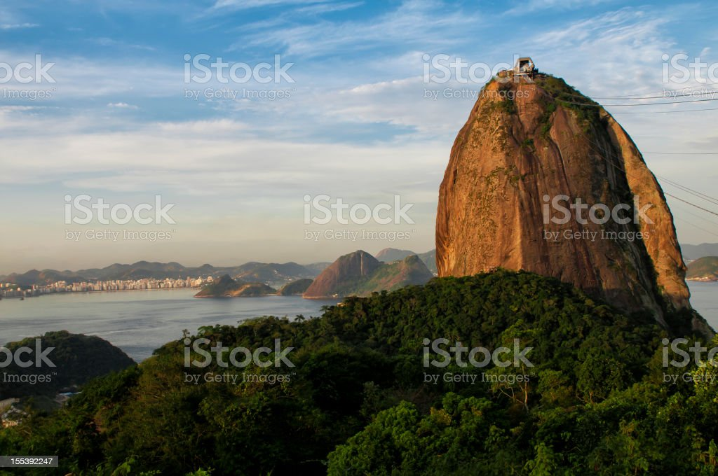 Rio de Janeiro and Sugar Loaf royalty-free stock photo