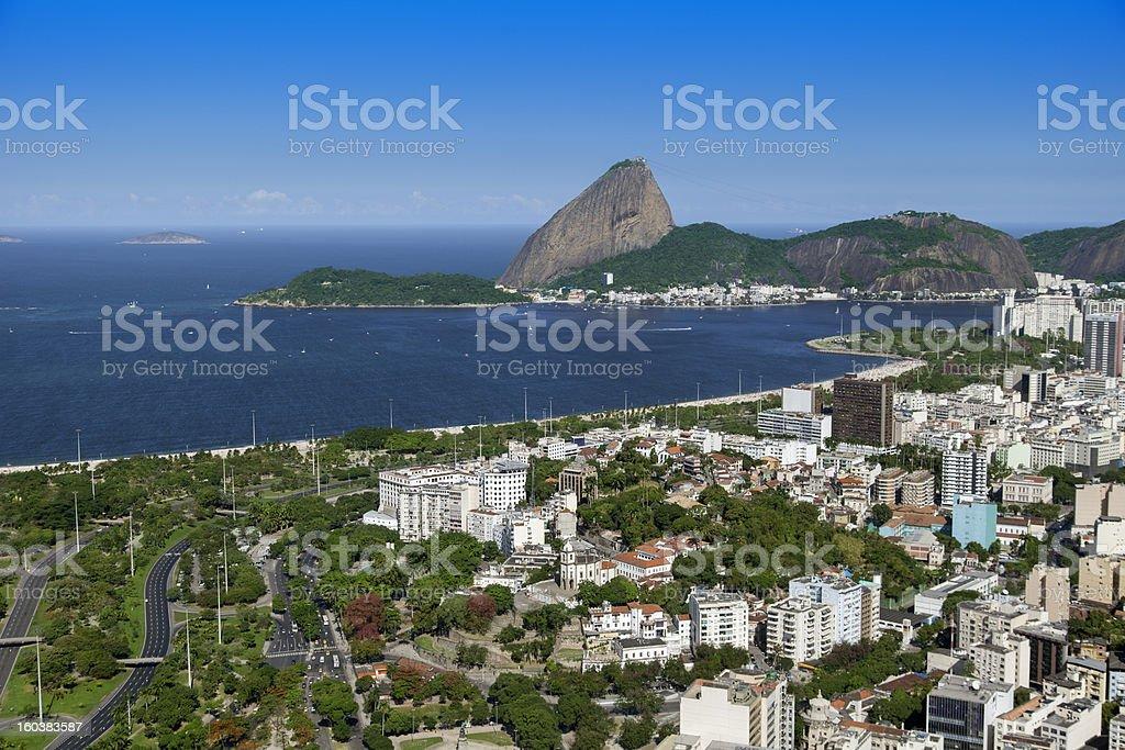 Rio de Janeiro Aterro do Flamengo stock photo
