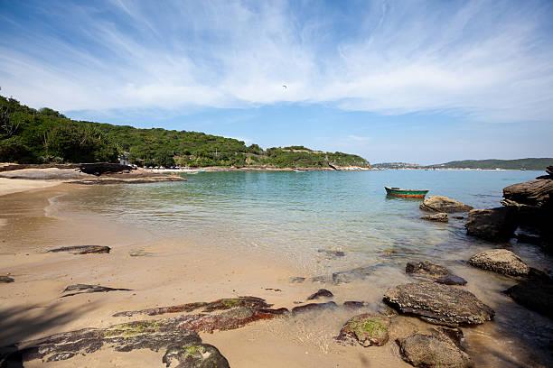 Rio de Janeiro. Azedinha Beach in Buzios. stock photo