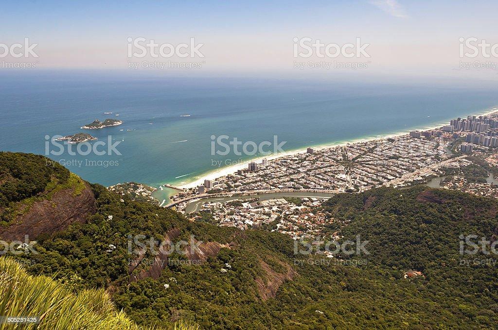 Rio de Janeiro, Barra da Tijuca stock photo