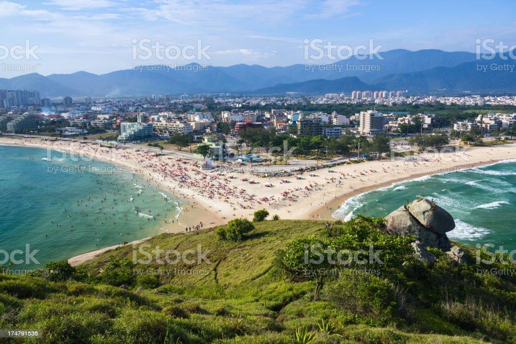 Rio de Janeiro beach stock photo