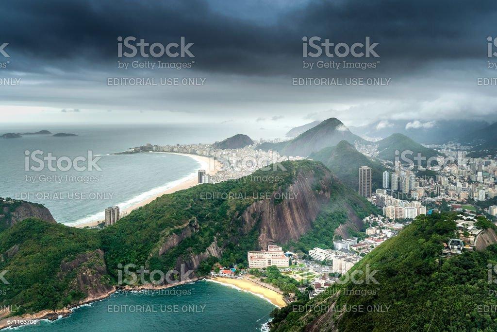Rio de Janeiro, Brazil, cityscape stock photo