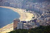 istock Rio de Janeiro, Brazil - Copacabana Beach panorama 1252449158