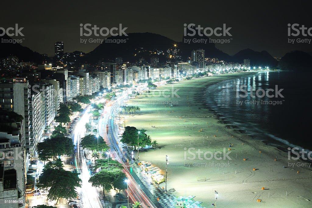 Rio De Janeiro, Brazil: Copacabana stock photo