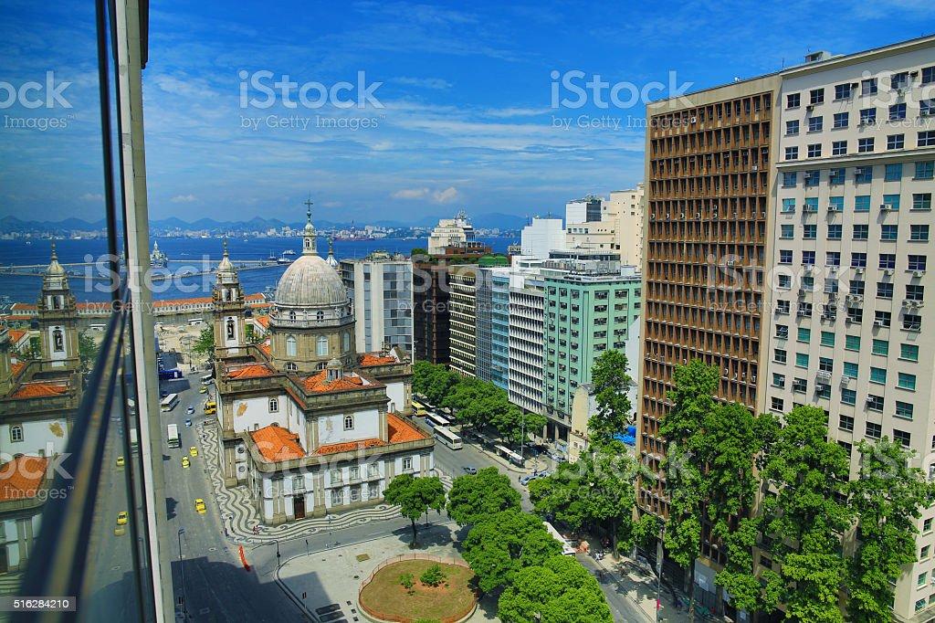 Rio De Janeiro, Brazil: Financial district stock photo