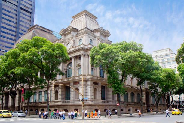 Rio De Janeiro, Brasilien, nationales Museum der bildenden Künste. – Foto