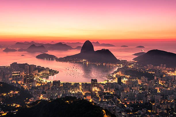 Rio De Janeiro von Sonnenaufgang – Foto