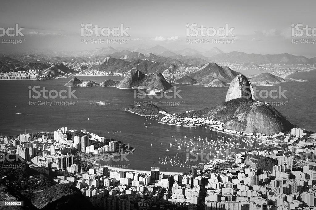 Rio de Janeiro coastline royalty-free stock photo