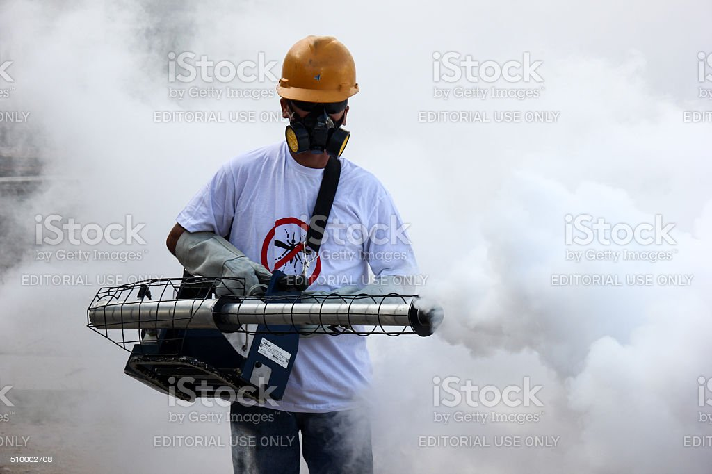 Rio de Janeiro intensifies fight against Zika virus stock photo
