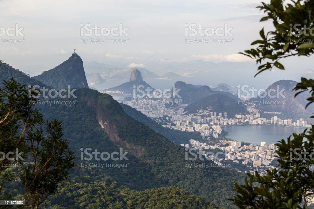 Rio de Janeiro landscape royalty-free stock photo