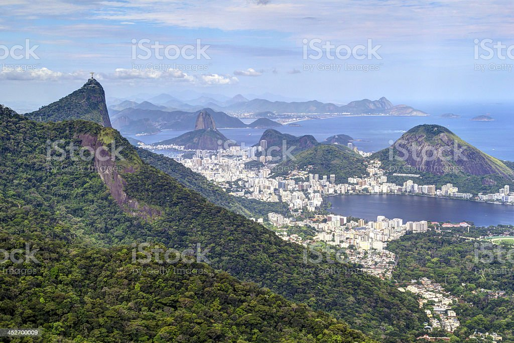 Rio de Janeiro landscape stock photo