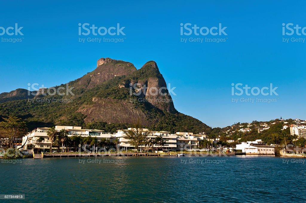 Rio de Janeiro Natural Landscape stock photo