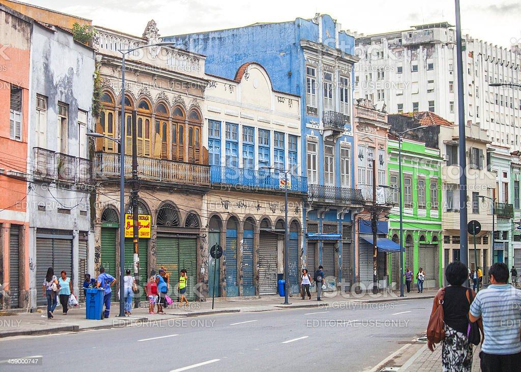Rio de Janeiro old area. royalty-free stock photo