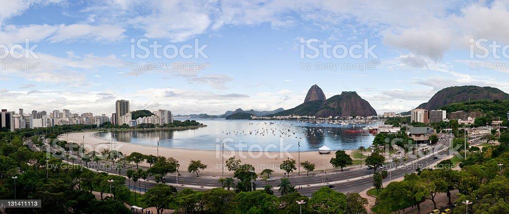 Rio de Janeiro panoramic stock photo