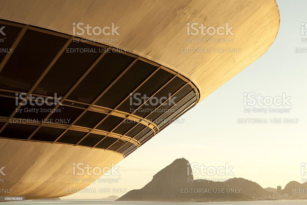 MAC Rio de Janeiro royalty-free stock photo