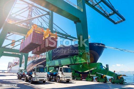 istock Rio de Janeiro port 585591006