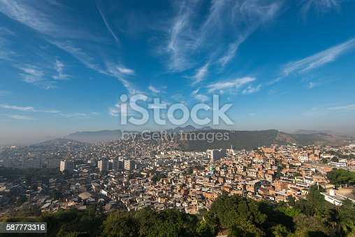 istock Rio de Janeiro Slums on the Hills 587773316